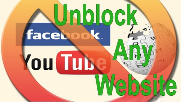 How to unblock websites, unblock video, unblock app